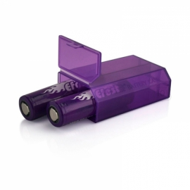 Кейс пластиковый 2х18650 Efest Battery Case
