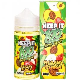 Keep It 100 Peachu Punch 100 мл жидкость