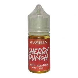 Maxwell's - Cherry Punch Salt Nicotine 30 мл