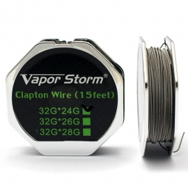 Проволока Vapor Storm Clapton 0,5 мм 24GA / 0,2 мм 32GA / 4,5 м