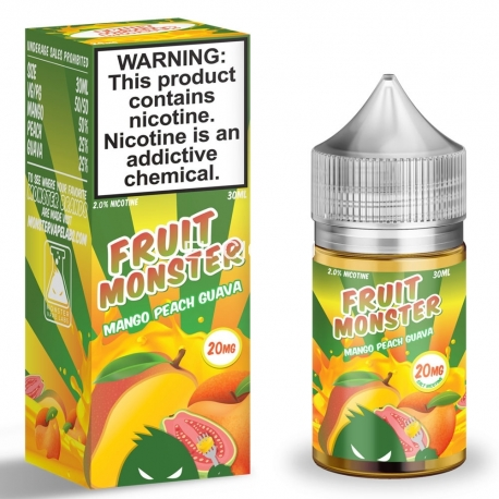 Fruit Monster Salt Mango Peach Guava 30 мл жидкость