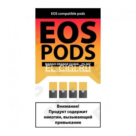 Сменный картридж EOS Pods x4 - Mango Orange Guava