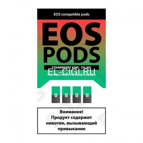 Сменный картридж EOS Pods x4 - Strawberry Kiwi