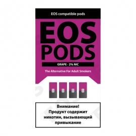 Сменный картридж EOS Pods x4 - Grape
