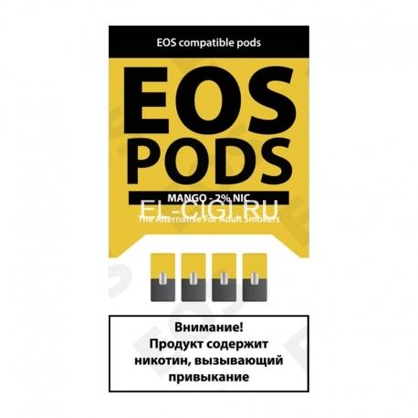 Сменный картридж EOS Pods x4 - Mango