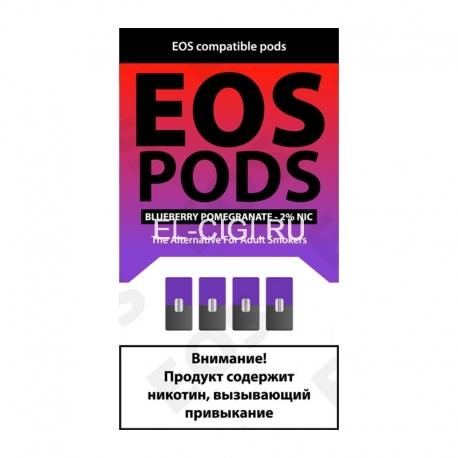 Сменный картридж EOS Pods x4 - Blueberry Pomegranate
