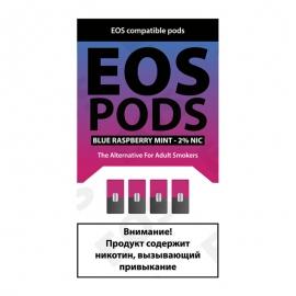 Сменный картридж EOS Pods x4 - Blue Raspberry Mint