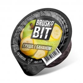 Бестабачная смесь для кальяна Brusko Bit - Груша с бананом