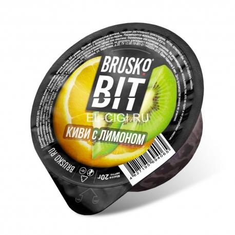 Бестабачная смесь для кальяна Brusko Bit - Киви с Лимоном