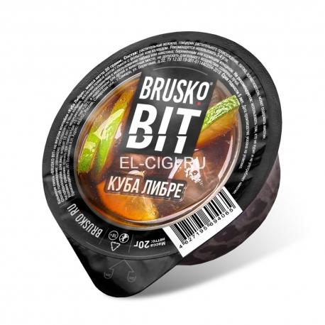 Бестабачная смесь для кальяна Brusko Bit - Куба Либре