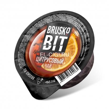 Бестабачная смесь для кальяна Brusko Bit - Цитрусовый чай