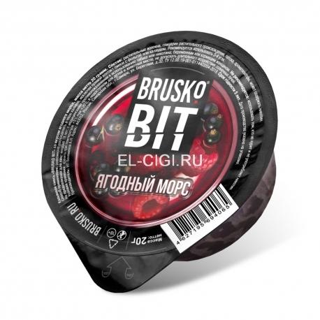 Бестабачная смесь для кальяна Brusko Bit - Ягодный морс